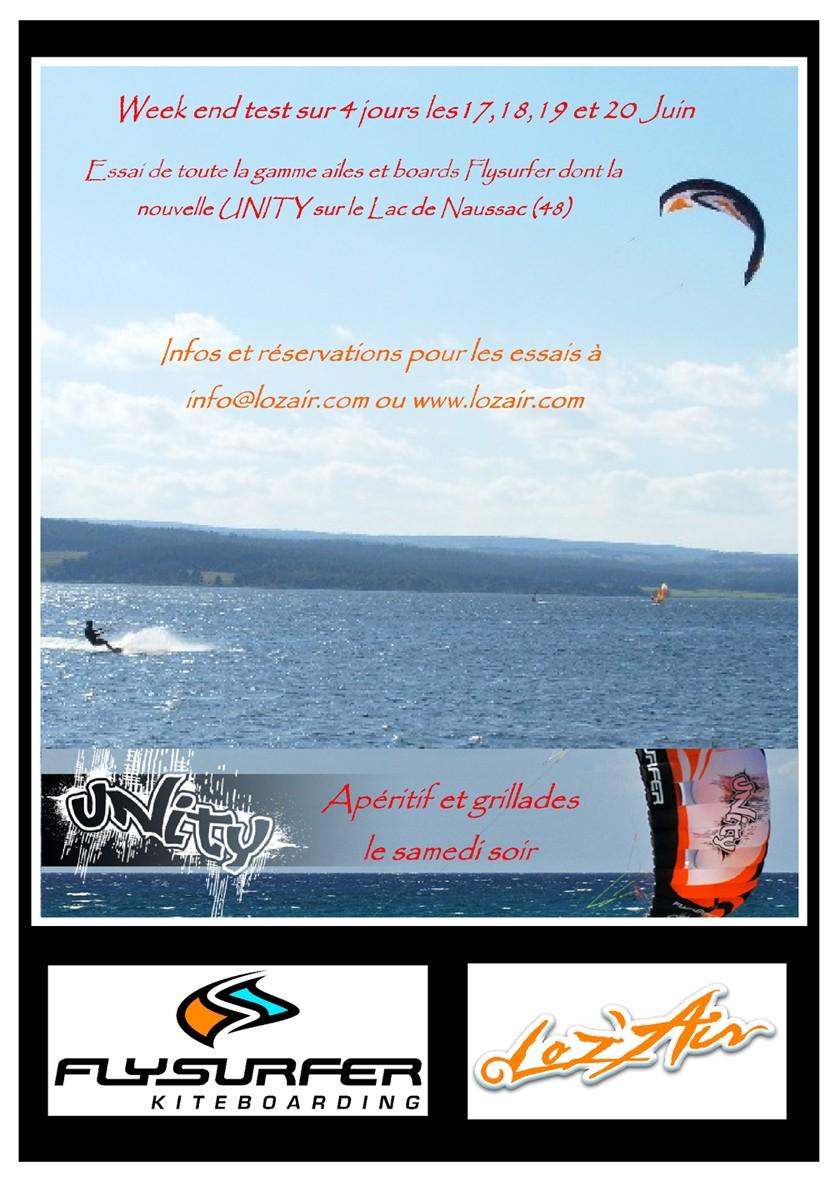 Week end Test Flysurfer: lac de Naussac 17,18,19 et 20 Juin !!! Paramo10