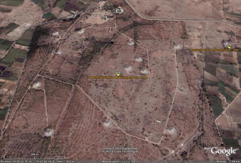 Observatoires astronomiques vus avec Google Earth - Page 15 Interf10