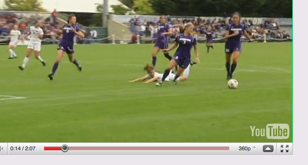 Video Highlights of UW Game Screen15