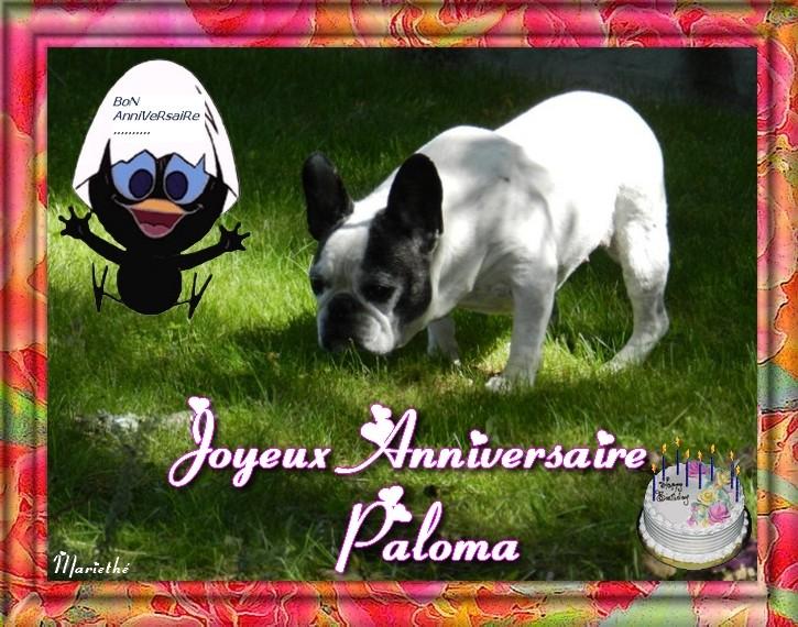 """Résultat de recherche d'images pour """"anniversaire paloma"""""""