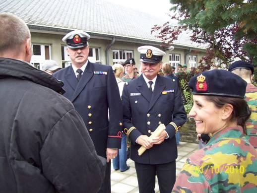 Remise des bérets à Stockem le 1er octobre 2010 Josue_15