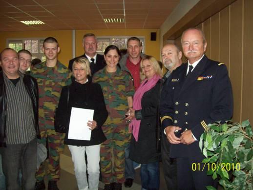 Remise des bérets à Stockem le 1er octobre 2010 Josue_16