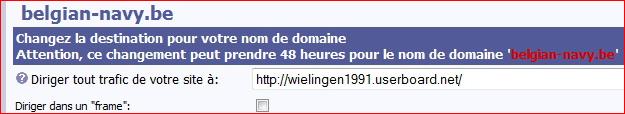 Configuration nom de domaine chez register.be  Regist12