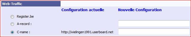 Configuration nom de domaine chez register.be  Regist14