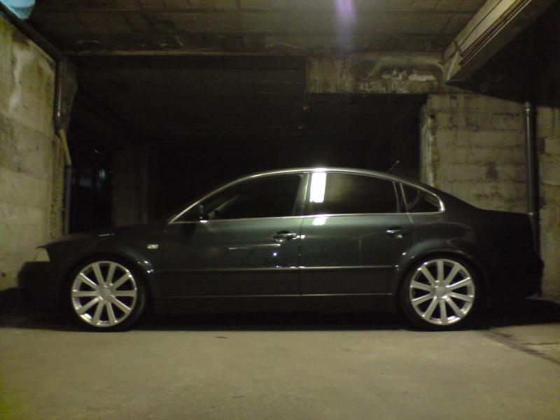 garycooper42 : ma one cab et ma passat P0605118