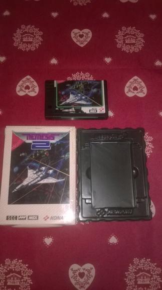[VDS] Jeux cartouches MSX Nemesi14
