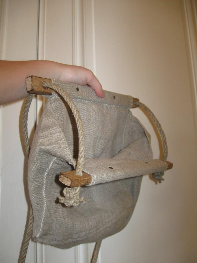 sac d'artilleur en toile de lin et lattes de bois Img_8320