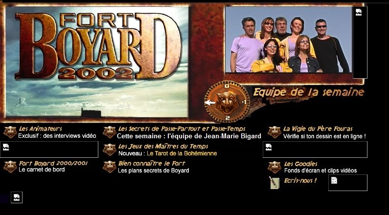 France 2 - Généralités sur le diffuseur de Fort Boyard (TV et Web) - Page 5 Siteof10