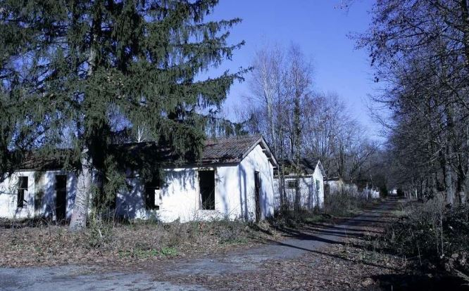 En 1990 la CCS du 1er RCP revient au camp d'Idron Aamci_32