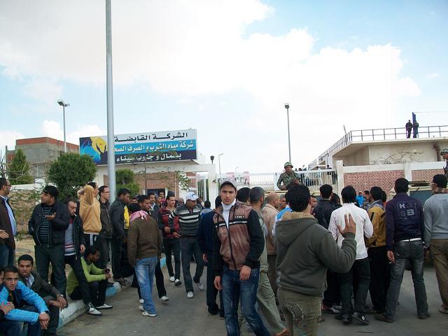 صور المظاهرات امام الشركة القابضة لمياه الشرب بالقنطرة شرق للمطالبة بالتعيين 54300210