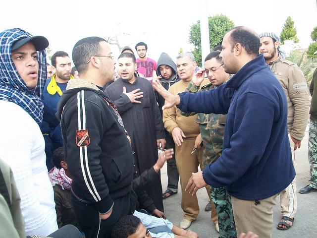 صور المظاهرات امام الشركة القابضة لمياه الشرب بالقنطرة شرق للمطالبة بالتعيين 54300211
