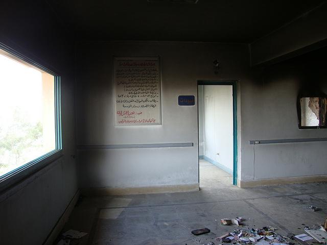 صور التخريب بقسم الشرطة والمرور بالقنطرة شرق 54853310