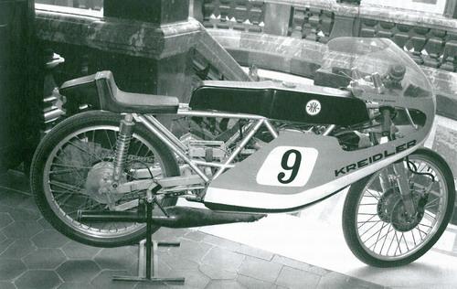 Franse Kreidler racers. Franse11