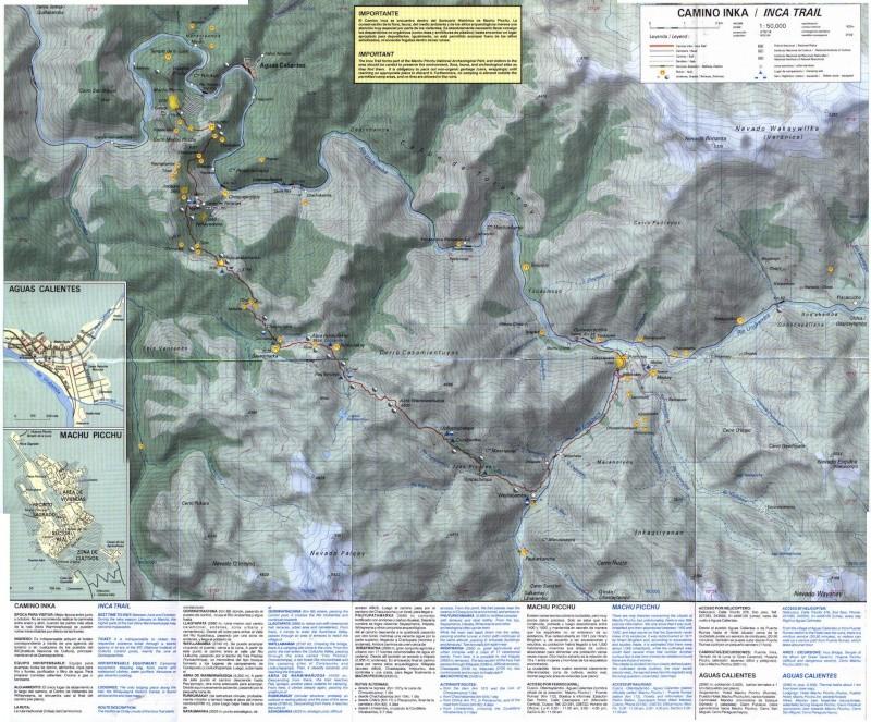 Cartes de randonnées - Cartes et plans touristiques. Camino10