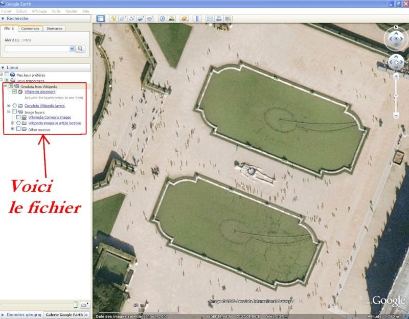 Wikipedia multilingue pour Google Earth. Captu153
