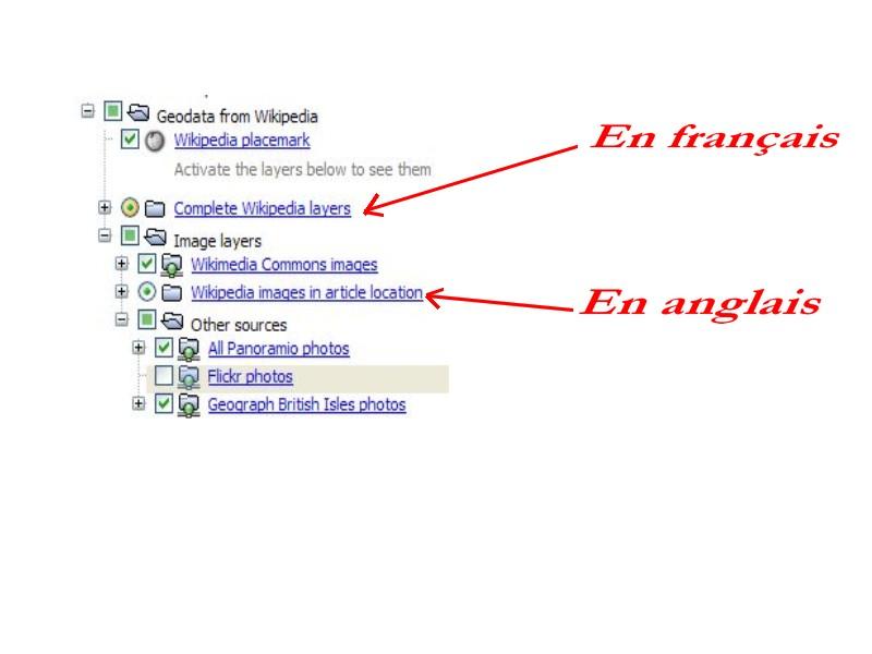 Wikipedia multilingue pour Google Earth. Captu157