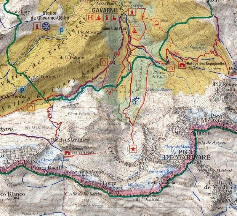 Cartes de randonnées - Cartes et plans touristiques. Captu160