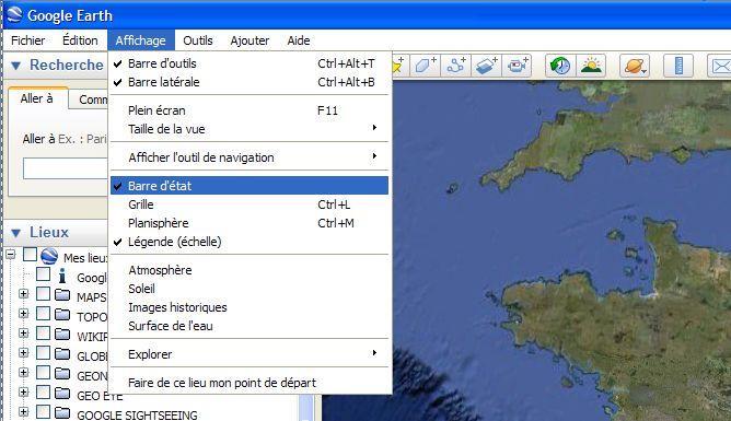 G.E ne présente plus les coordonnées [Problème Google Earth résolu] Captu189