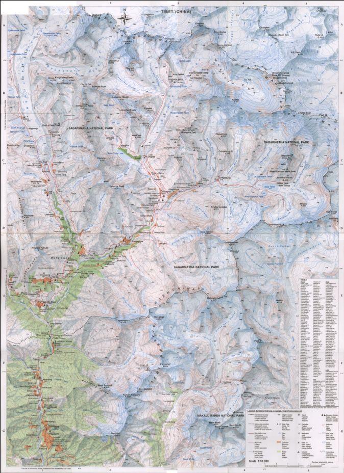 Cartes de randonnées - Cartes et plans touristiques. Captur21