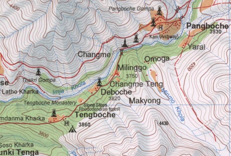 Cartes de randonnées - Cartes et plans touristiques. Captur22