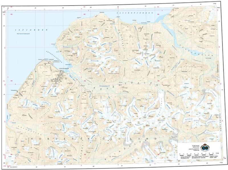 Cartes de randonnées - Cartes et plans touristiques. Captur23