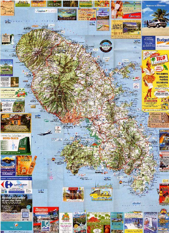 Cartes de randonnées - Cartes et plans touristiques. Captur41