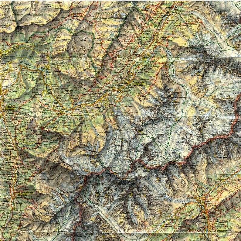 Cartes de randonnées - Cartes et plans touristiques. Captur45
