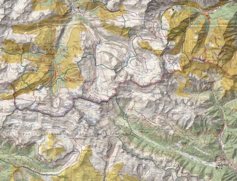 Cartes de randonnées - Cartes et plans touristiques. Carte_13