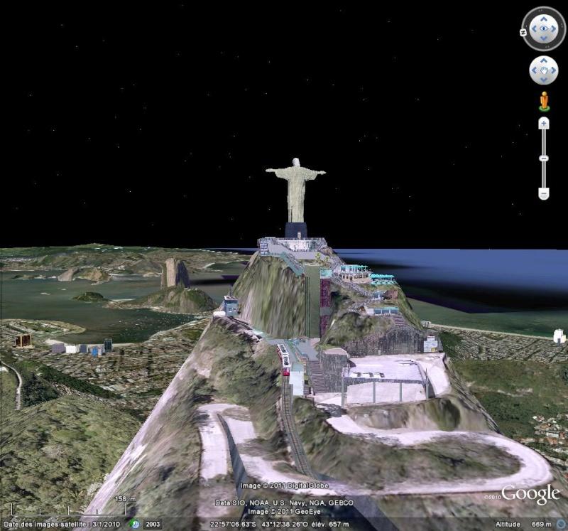 Grands Monuments du Monde en structure 3D [Sketchup] Christ10