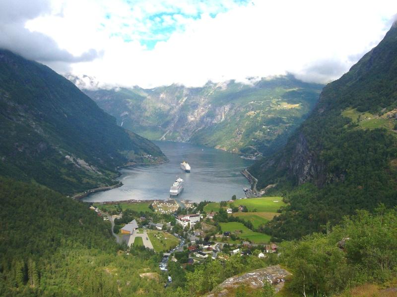 Les paysages Des pays Nordiques  Norv_210