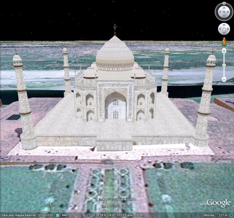 Grands Monuments du Monde en structure 3D [Sketchup] Taj_ma10