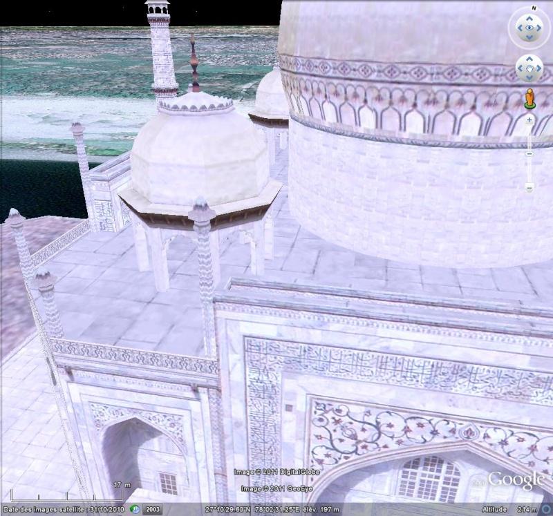 Grands Monuments du Monde en structure 3D [Sketchup] Taj_ma11