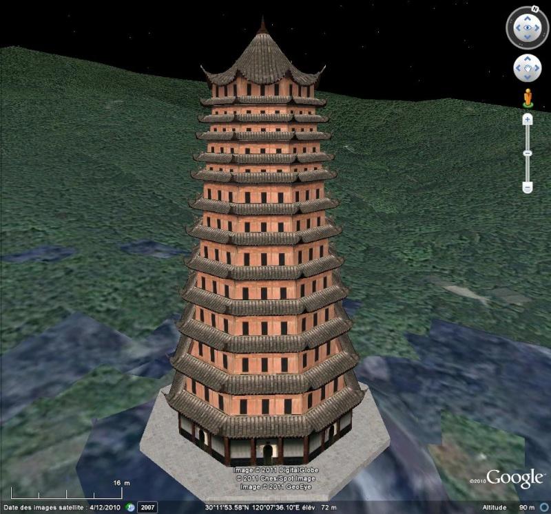 Grands Monuments du Monde en structure 3D [Sketchup] Tour11