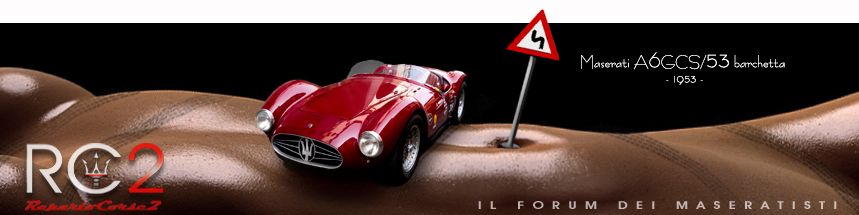 Maserati Racing all'asta su catawiki  Banner14