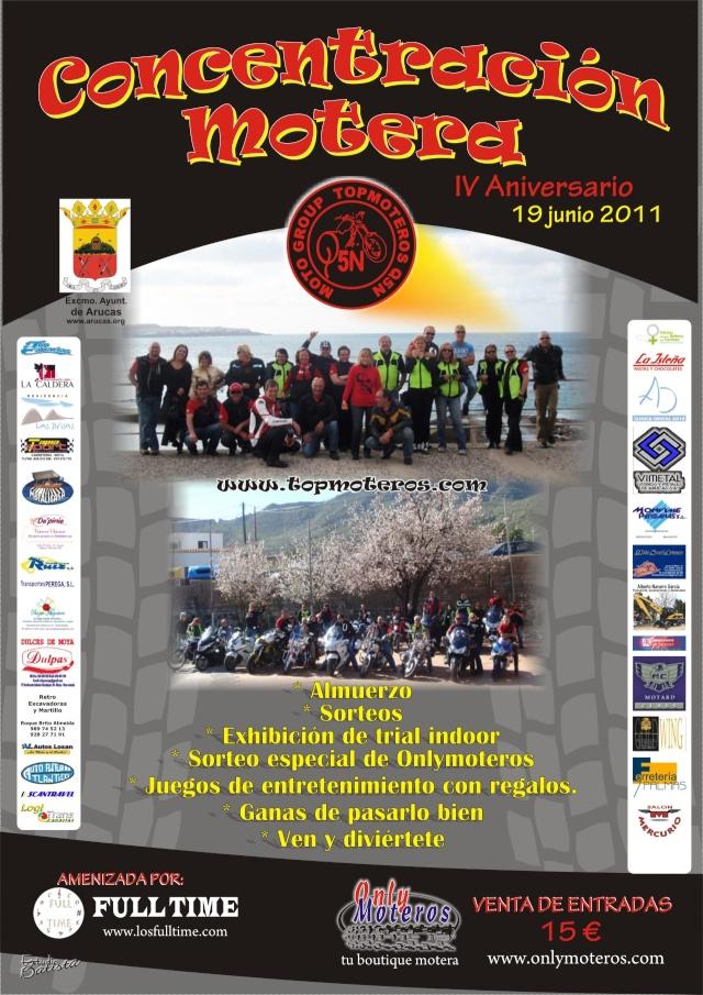Concentración Motera. IV Aniversario Topmoteros Q5N    Ani20110