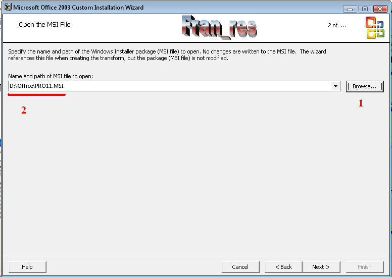 paquete de instalacion pro11.msi gratis para office 2003