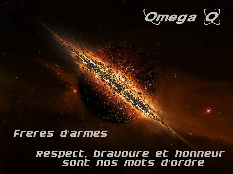 Merci de ce rendre a c'tadresse: http://omega-raid.xooit.fr/index.php