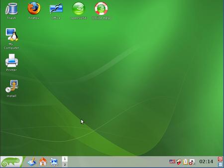 OpenSUSE Opensu12