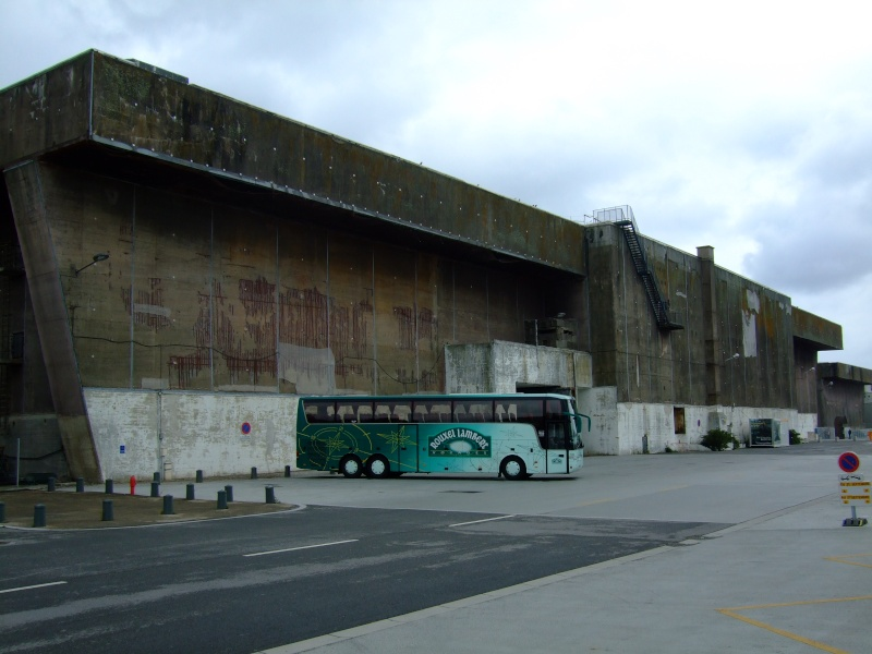 A visit to the U-Boat pens at Lorient 02716