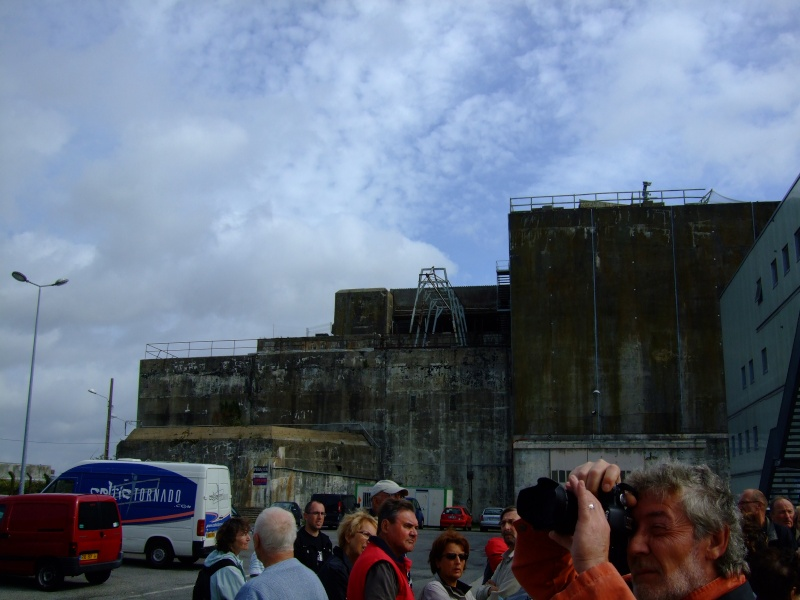 A visit to the U-Boat pens at Lorient 05610