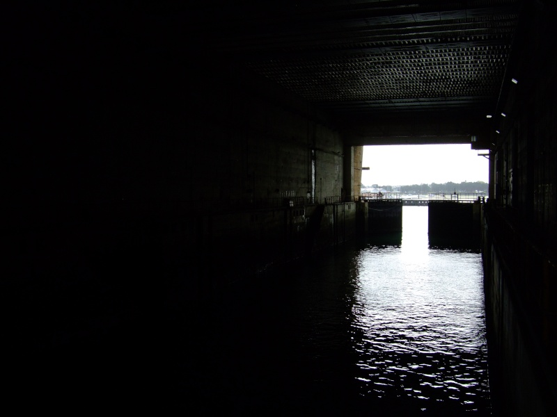 A visit to the U-Boat pens at Lorient 06410