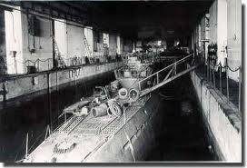 A visit to the U-Boat pens at Lorient U-boat10