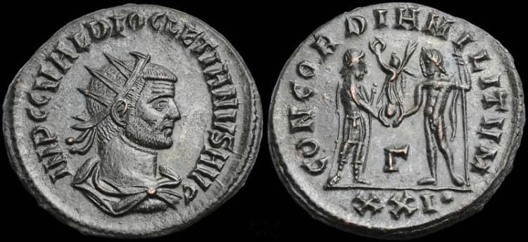 Collection mozarto 4e siècle Diocla10