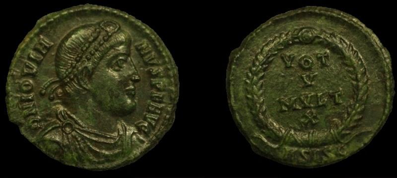 Collection mozarto 4e siècle Jovien11