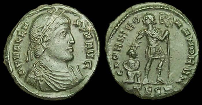 Collection mozarto 4e siècle Valens10