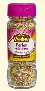 Déco de gateau Perles10