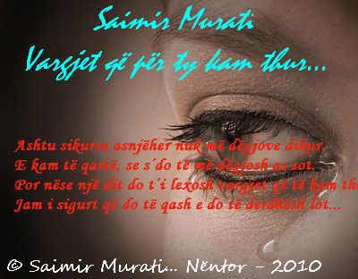 Foto-Poezi...  (© Saimiri.) Vargje10