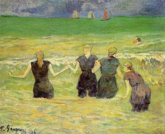 La Plage : Artistes peintres, illustrateurs, photographes... - Page 4 Gaugui10