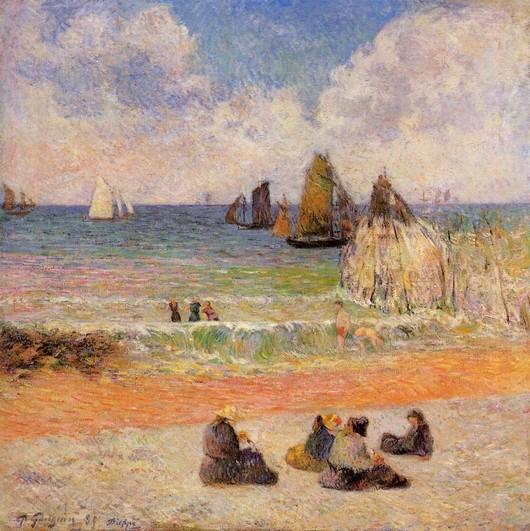 La Plage : Artistes peintres, illustrateurs, photographes... - Page 4 Gaugui12