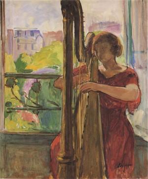 La musique dans la peinture - Page 3 Henri_12